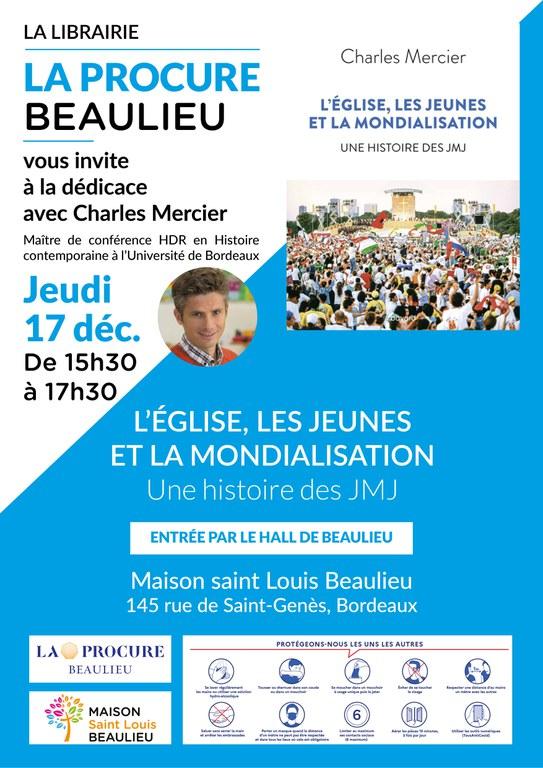 Dédicace Charles MERCIER - LA PROCURE BORDEAUX