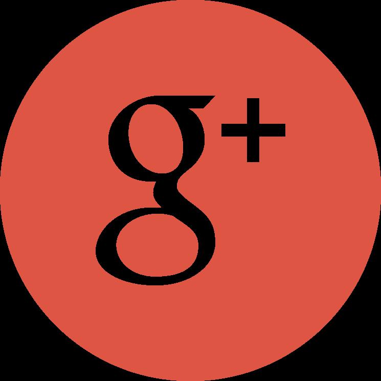 Flat social icon circle googleplus